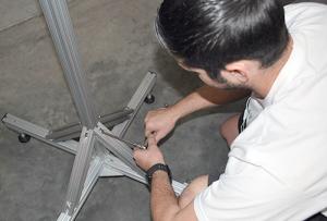 Installing 80/20 aluminum extrusions